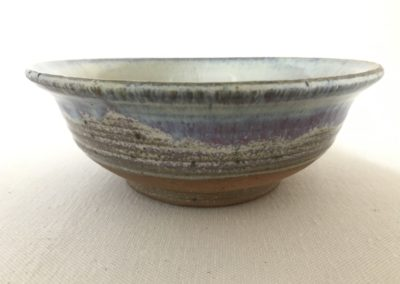 Jim Sheffler handmade pottery bowl 534