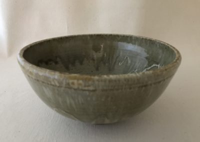 Jim Sheffler handmade pottery bowl 557