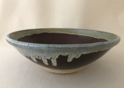 Jim Sheffler handmade pottery bowl 55f