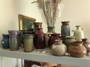 Jim Sheffler handmade pottery various